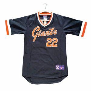Majestic Clark #22 SF Giants 1982 Baseball Jersey